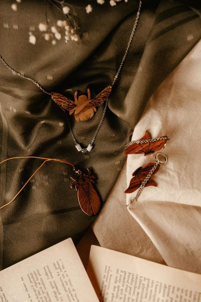 bijoux insectes